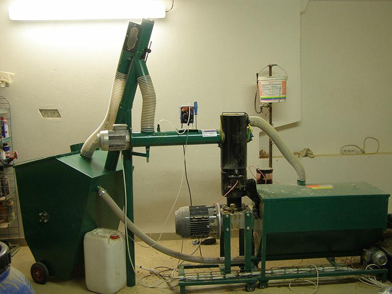 Výroba pelet
